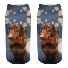 Mini calza donna cane razza Bassotto