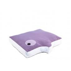 Cuscino Fumetto rettangolare 60x40x15h col. Indaco