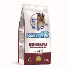 FORZA10 Medium Adult Maintenance all'Agnello e Riso 12,5kg