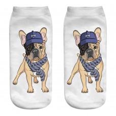 Mini calza donna cane razza Bulldog