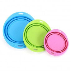 Becobowl Travel Folding Silicone Bowl