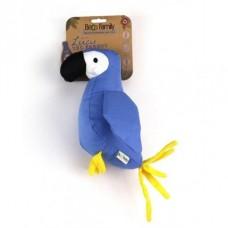 Gioco cane Beco stoffa pappagallo con squeaker
