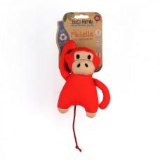 Gioco cane Beco stoffa scimmia con squeaker