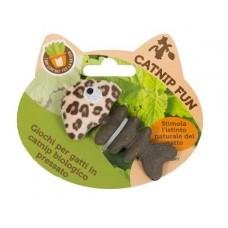 Gioco gatto Peluche con catnip