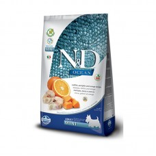 Farmina N&D Ocean Adult Mini Merluzzo, farro, avena e arancia
