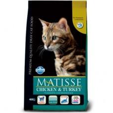 Matisse gatto adult pollo&tacchino 1,5kg